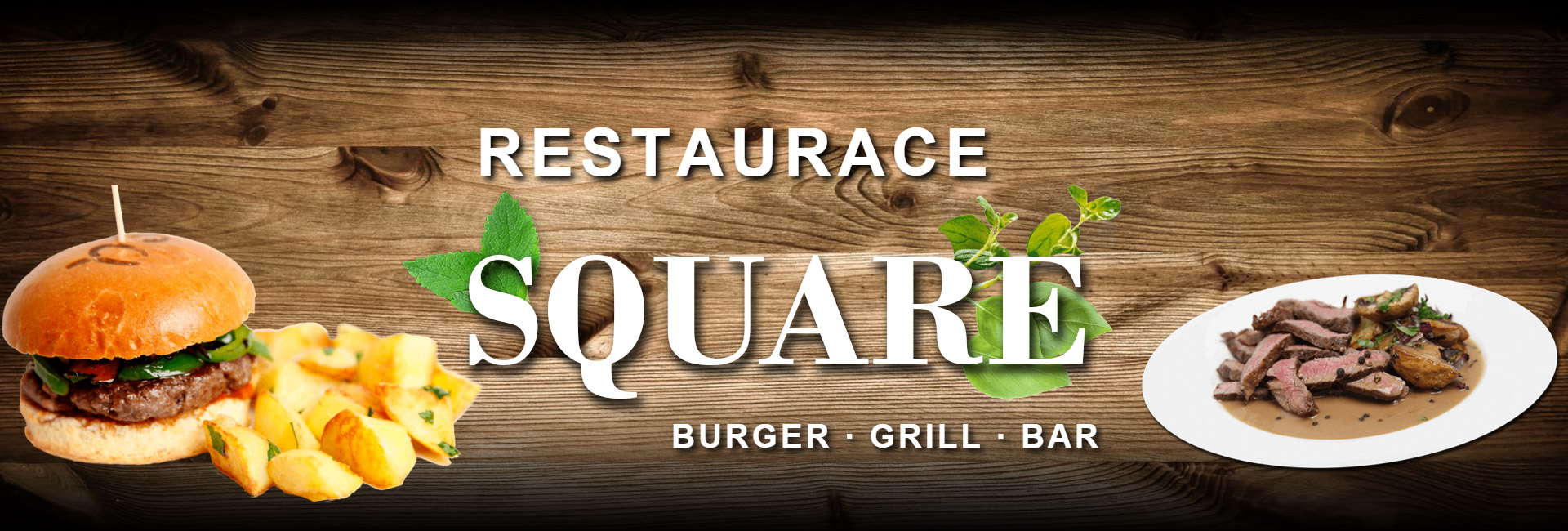 restaurace square burger grill bar
